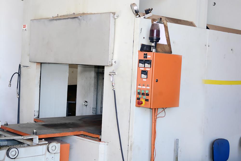 Máquinas diferenciadas para peças eficientes